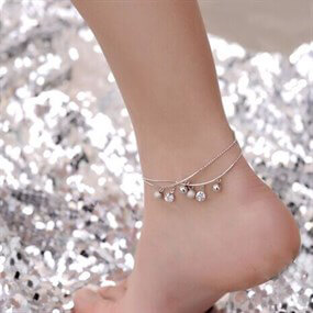 Anklet with round Charms