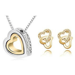 Affection Jewellery Set - gold