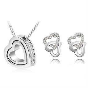 Affection Jewellery Set - silver