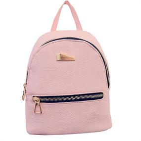 Minimalistic backpack - pink