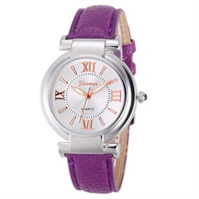 Ladies Casual Watch - purple