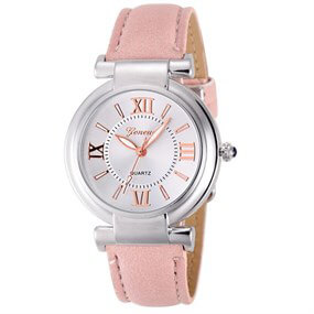 Ladies Casual Watch - salmon