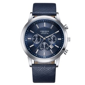 Blue Chronos Watch
