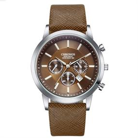 Brown Chronos Watch