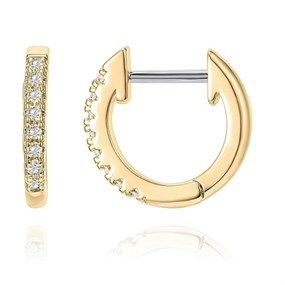 Adorable Small Hoops - gold